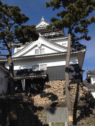 岡崎城の写真です。